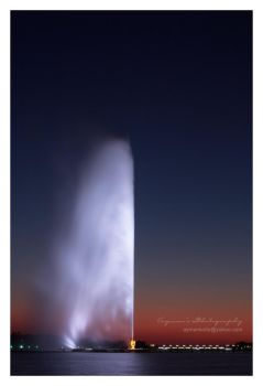 Jeddah's Fountain II by aymanko0o