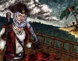 Gangplank by Nyodra by carol-colors