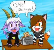 Buwaro and Me by FurryHenry