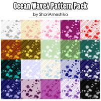 Ocean Waves Pattern Pack by ShoriAmeshiko