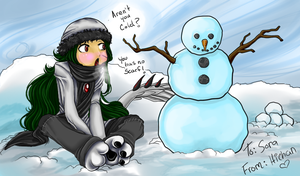 Hey There Mr. Snowman by Hinderence