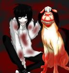 jeff the killer meet smile dog jpg