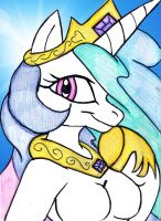 RD: EMS: Celestia Sketch by mhedgehog21