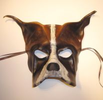 Leather Mask of a Dog by teonova