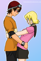 Prize : Bossun and Himeko by Sorceress2000
