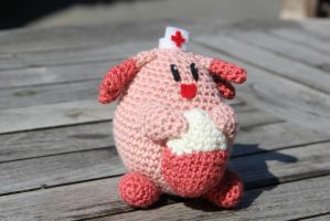 #113 chansey by pokecrochetchallenge