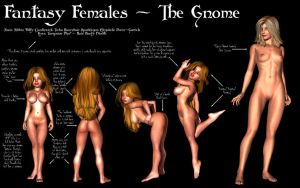 Fantasy Females - The Gnome by Sailmaster-Seion