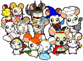 Hamtaro hero of hamha land by pakwan008