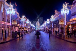 Disneyland Paris, Main Street by LexH