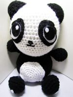 Panda Crochet Doll by Nissie