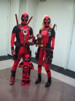 Deadpool Family by TheGirlNooneKnows