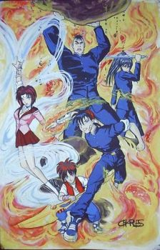 Flame of Recca by ayamizumi