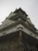 Osaka castle by Butterfinger-Sharpie