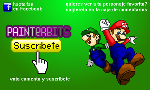 Mario y Luigi-PainterBits by PainterBits