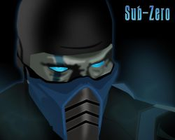 Sub-Zero Wallpaper by Namelessv1