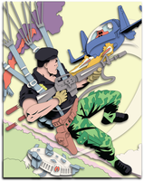 Commission:  GI-JOE Comic 54 Shadowbox Mock-up by The-Paper-Pony