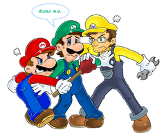 Commish: Paisano problem by Nintendrawer