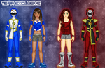 PR Beast Brigade Rivals: Lexi and Bex by TerenceTheTerrible