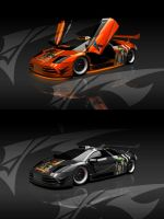 Orange Murcielago Fix WIP 2 by ragingpixels