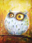 white owl by bemain