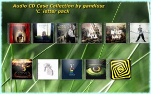 CD Case Collection 'C' by gandiusz