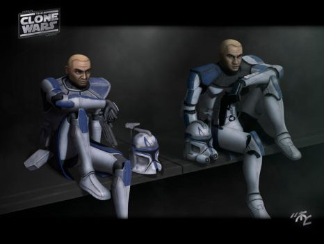 Captain Rex CC-7567 by Master-Cyrus