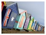 Beach Huts by inyourhonour