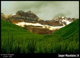 Jasper Mountains 14 by KSPhotographic