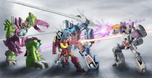 Botcon 2014 Tryptich by TGping
