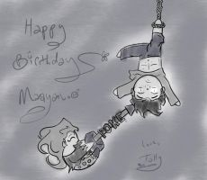 Happy Birthday Maayany by Kid-Apocalypse