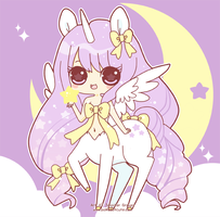 Pegasus Unicorn Chibi by Pijenn