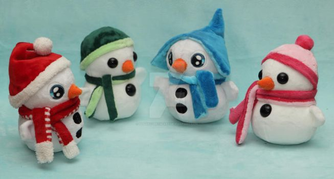 Winter conference - the snowmen convention by SugarcubeCherry