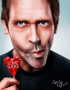 DR HOUSE by mia1888