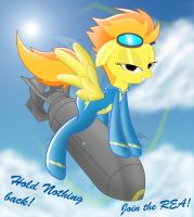 Spitfire..........Wants you to Saddle up! by Spitshy
