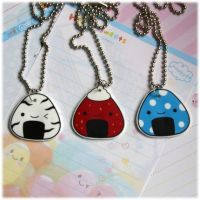 Onigiri Necklaces by Keito-San