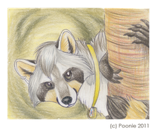 In the Forest - ACEO Trade by PoonieFox