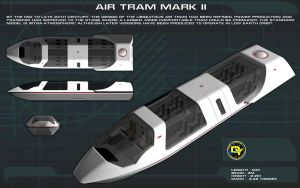 Federation Air Tram Mk II Tech Readout by unusualsuspex