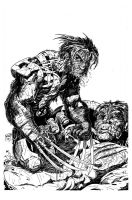 Wolverine---Victorious by KenHunt