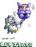 Gengar with LEVITATE. by AltiaStudio