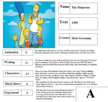 The Simpsons Report Card by mlp-vs-capcom
