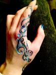 Hand painting by Holly-Rosse