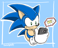 Got A Message by SonicSpeedz