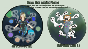 Meme: before and after by Emsoble