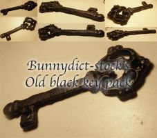 Old black key pack by Bunnydict-stock