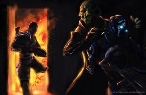 Mass Effect 2: Hired Guns by Arkis