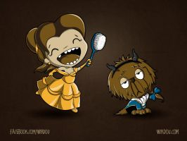 The Beauty and... The Beast? by WirdouDesigns