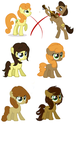 Concerto and Golden Harvest Shipping Adoptables by MLPPointsAdoptables