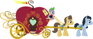Apple Carriage Vector by piranhaplant1