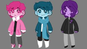 [OTA] Color/Winter Adopts [CLOSED] by Twisted-Troll