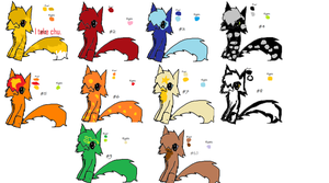 Adoptable Cats (OPEN) by nooks-crannies